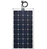 Hauptsystems-höchster Leistungsfähigkeit Sunpower 100W halb flexibler Sonnenkollektor mit niedrigem Preis