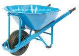 Trole de roda única para transporte de jardim