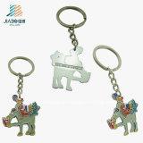 A promoção feita sob encomenda Crafts o esmalte Keychain animal da carcaça do fabricante de China