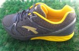 Ineinander greifen und PU-materielle obere Sport-Schuh-laufende Schuh-Fußbekleidung
