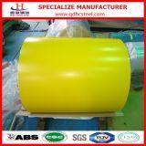 Vorgestrichene galvanisierte Stahlblech-Spule