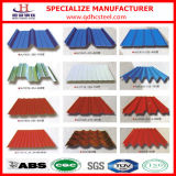 Z60 Pre-Painted Galvanized Corrugated Steel Sheet für Roofing