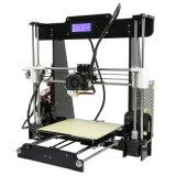 Machine d'impression de Chaud-Vente 3D de l'imprimante de bureau des prix les plus inférieurs A8 3D