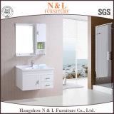 Самомоднейший пол - установленный шкаф ванной комнаты PVC с шкафом зеркала