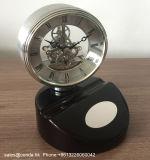 Reloj de mesa de negocios de madera sólida de alta calidad K8064