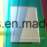 4mm, 5mm, espelho de prata dourado de 6mm