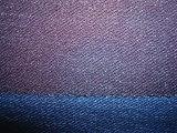 Denim della Jersey di stirata della nervatura dell'azzurro di indaco