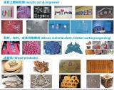 Máquina de láser de CO2 para el corte de textiles y perforación de agujeros