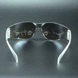 Silver Mirror Lens Safety Glasses UV400 Protection (SG103)