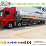 Neues 45cbm 3axle Light Duty Aluminium Alloy Cooking Oil Tanker Trailer