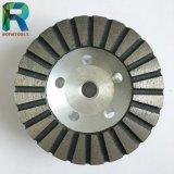 """4개의 """" 직경 알루미늄 다이아몬드 컵 바퀴"""