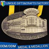 Più nuova medaglia dei metalli con il nastro personalizzato