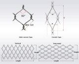 316ステンレス鋼ワイヤーロープの編まれた網