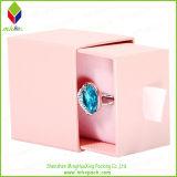 Чувствительная подгонянная коробка ювелирных изделий кольца упаковывая