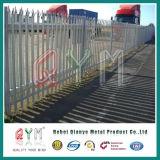 Cercado de acero de la seguridad de la palizada de Galvanzied de la sección de la alta calidad W