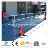 안전 금속 담 보행자 교통량 임시 군중 통제 방벽