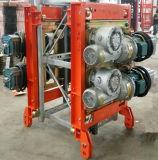 Élévateur de la construction Sc200/200/double levage de matériau de construction de cage