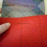 130g feito na tampa do revestimento do PVC de feltro do vermelho de China