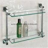 vidrio del estante de 6/8m m para el sitio de ducha/contrario para portador