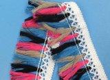 女性ののためのGarment多彩なふさのフリンジのレース