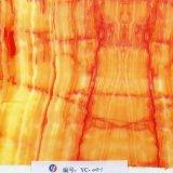 Yingcai 1m Film van de Overdracht van het Water van de Breedte Mauve Marmeren Geschikt om gedrukt te worden