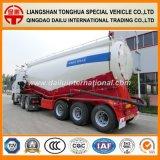 60cbm secan el acoplado a granel del transporte de petrolero del polvo del cemento del petrolero semi