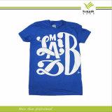 تصميم حديثة صاحب مصنع بيع بالجملة حرير يطبع [ت] قميص ([ر26])