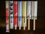 Puede Impreso plástico envuelto por mayor de los palillos de bambú