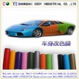 Pellicola cambiante di colore lucido, autoadesivo dell'involucro dell'automobile del vinile con la bolla di aria liberamente