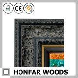 Картинная рамка строительного материала сбор винограда деревянная для декора гостиницы