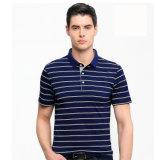 рубашка пола гольфа пола нашивки рубашки пола людей 100%Cotton