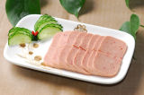 Fiambre de cerdo del pollo, alimento conservado para África