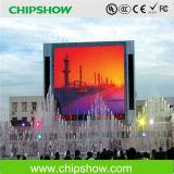 Exhibición de LED a todo color de la publicidad al aire libre de Chipshow P10 IP65