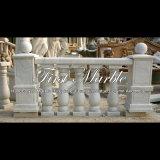 Witte Marmeren Balustrade voor Decoratie & Bouwmateriaal mbal-003 van het Huis