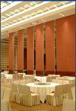 Pareti mobili di legno d'profilatura moderne di alluminio della parete della Cina