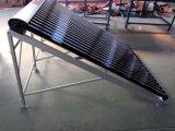Coletor solar com distribuidor da curva