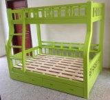 緑色の木の子供の二段ベッドよい様式の二段ベッド(M-X1102)