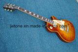 최고 표준 Les Lp 일렉트릭 기타가 대중적인 호랑이에 의하여 단풍나무 타올랐다