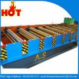 Metalldach galvanisierte das gewölbte Aluminiumstahlblech, das Maschine herstellt, farbiges, das Stahlwand-Dach-Panel die Formung der Maschine kaltwalzen