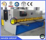 Máquina de corte da guilhotina hidráulica da máquina de estaca da placa da chapa de aço do metal