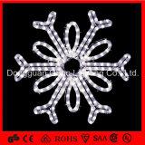 Indicatore luminoso esterno impermeabile del fiocco di neve di motivo della decorazione LED