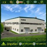 Construcción de la estructura de acero Prefab Edificio de almacén (LS-SS-551)