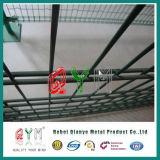 Qym-Tennis Court Wire Mesh Fence для Double Court