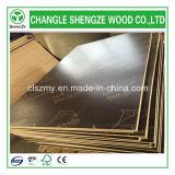 madera contrachapada impermeable impresa 12/15/18m m del encofrado de la insignia