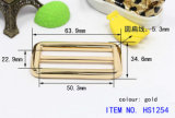 Curvatura de correia do Pin de metal para a bolsa