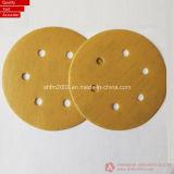 Dischi abrasivi della pellicola da 6 pollici con 6 fori (alta qualità)
