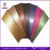 Het Roestvrij staal van de Kleur van de Hitte van het Metaal van het blad van Foshan