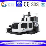 Centro fazendo à máquina do pórtico da coluna do dobro do trabalho do metal do CNC Gmc1210