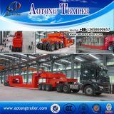 Semi-reboque modular de baixa renda hidráulica para veículos de propósito especial