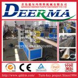 Máquina plástica da extrusora da tubulação de PVC/PP/HDPE/PE/PPR com a tubulação de /PVC do preço que faz a linha de produção da extrusão da máquina/tubulação